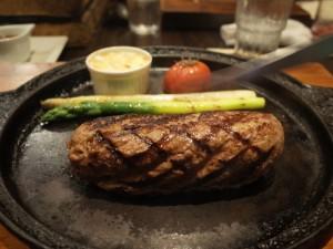 炭火焼ハンバーグ|グリルK