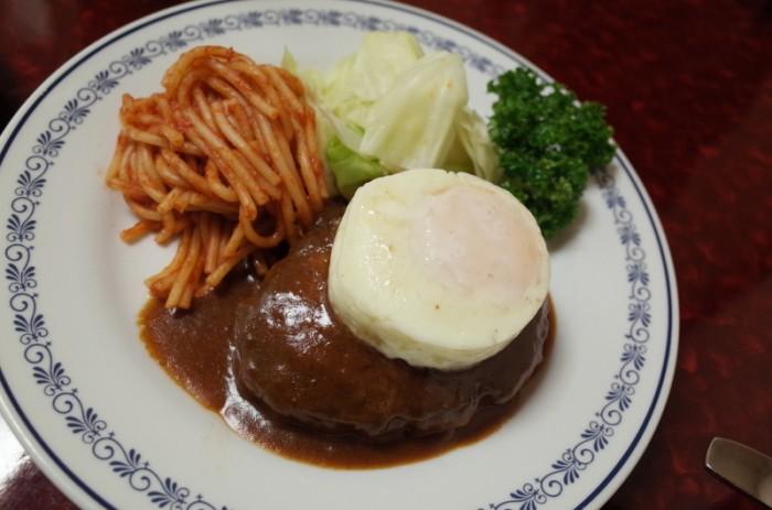 ハンバーグステーキ|煉瓦亭