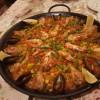 パエリア ミクスタ(鶏&シーフード)|ロスレイエスマーゴス