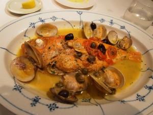 鮮魚のアクアパッツア|アクアパッツア