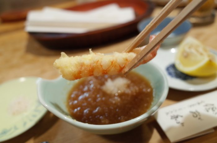天ぷらで夏を感じにまた訪れてしまった・・。