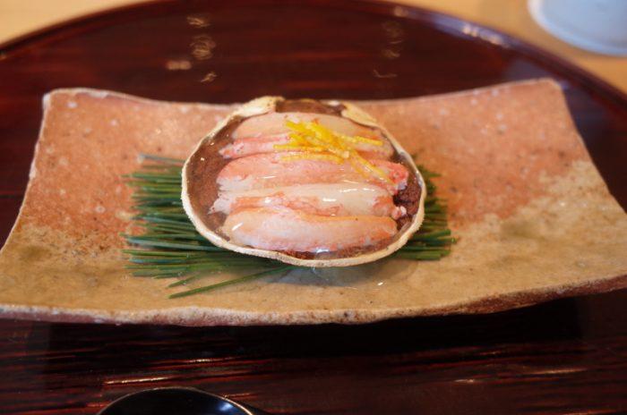 ミシュラン星付き割烹の〆は手打ち蕎麦