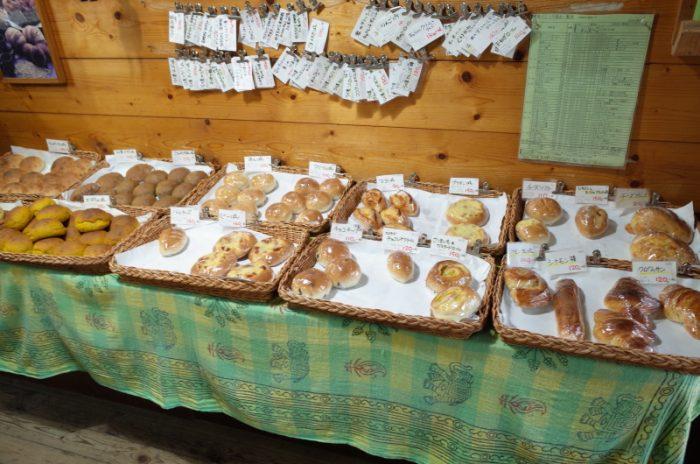 山の中に漂う上質な麦の香り、山のパン屋さん