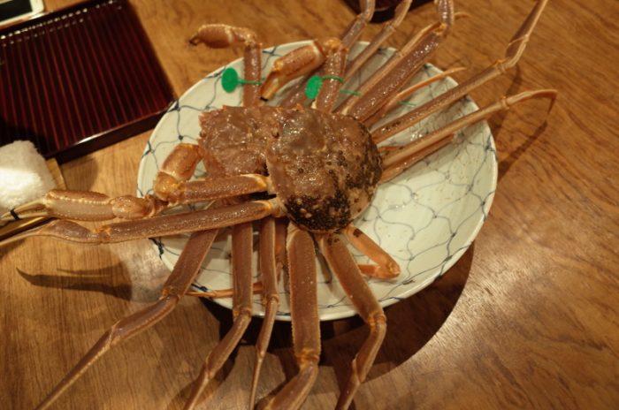 蟹の旬到来。やっぱり大間蟹は王様だっ!