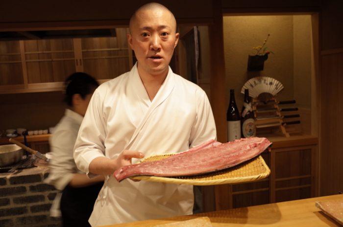 名店『海味』出身の今輝いている鮨