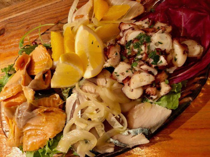 華やかガッツリの魚介系イタリアン