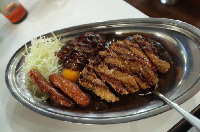 金沢カレーの代表格でガッツリ食らう