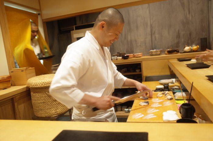 日本橋にある若き寿司職人さんの店へ!