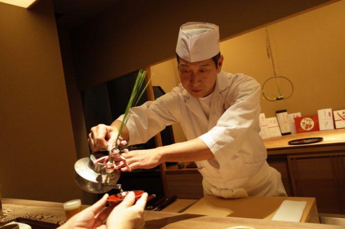 京都の老舗割烹の総料理長が銀座に!