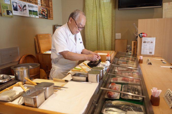 新潟の地魚を気軽に楽しむ田舎寿司