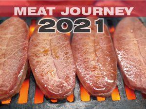 肉カレンダー2021版「MEAT JOURNEY 2021」